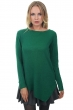 femme pull col rond zaia vert anglais m