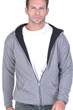 homme gilet t shirt gaston anthracite chine mure s