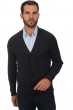 homme gilet t shirt goulven anthracite chine l