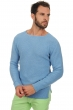 homme pull col rond herbie bleu azur chine xl