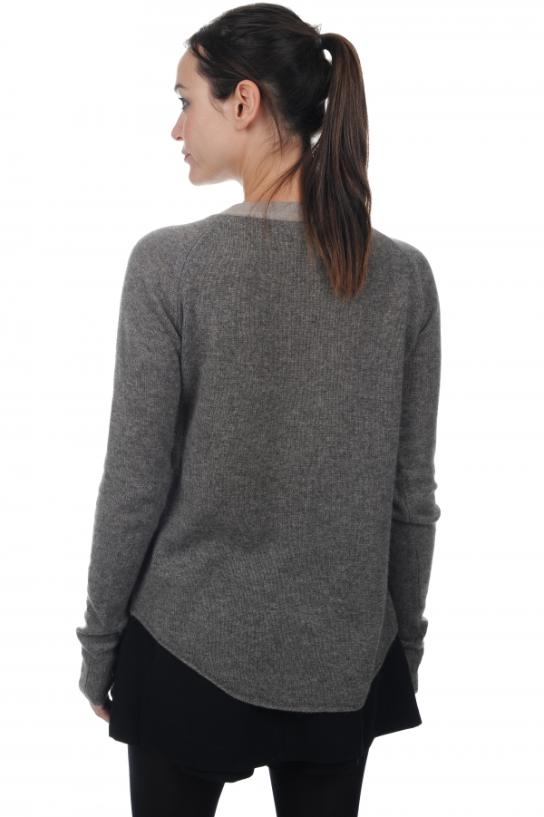 femme pull col rond marcia marmotte chine xl
