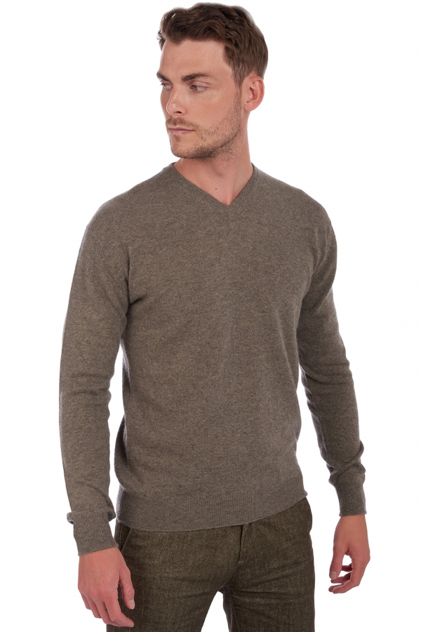 homme pull col v gaspard marmotte chine xl