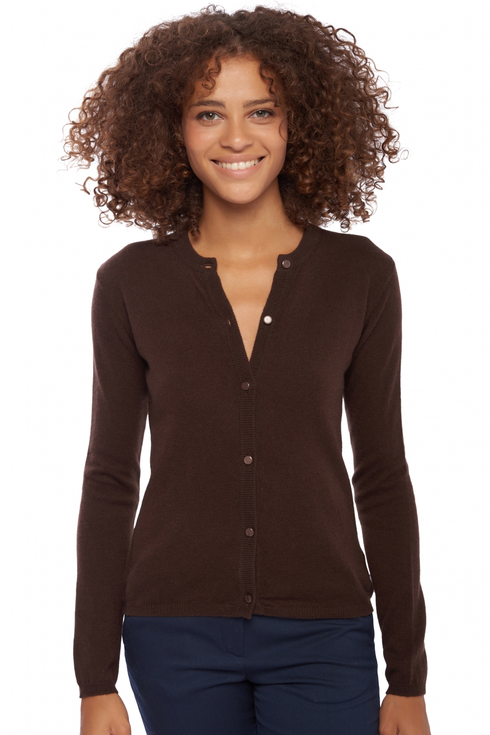 femme gilet chloe capuccino s