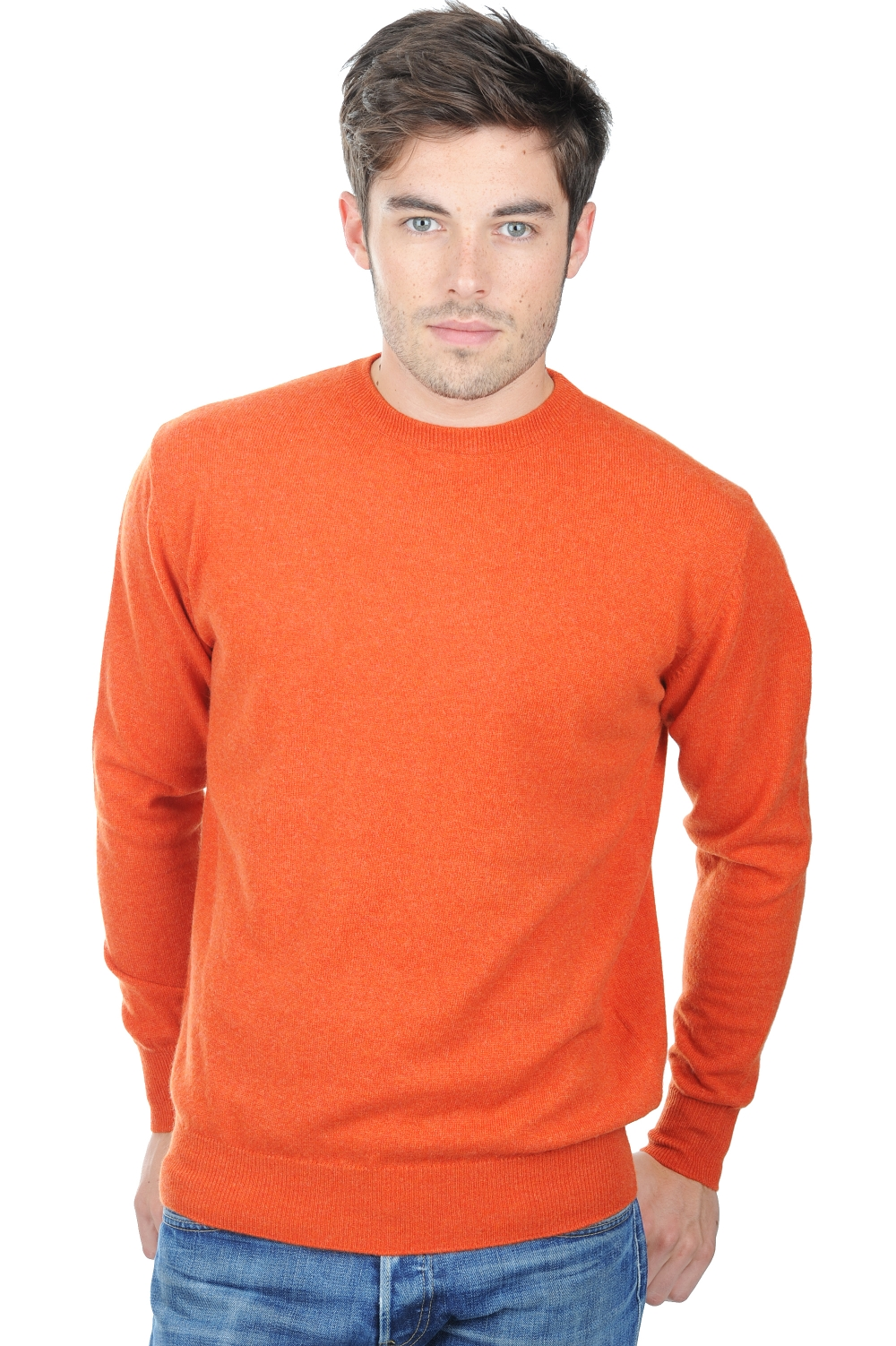 homme pull col rond nestor paprika m