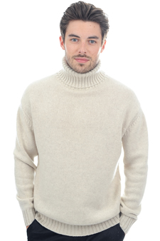 Cachemire  pull homme col roule achille