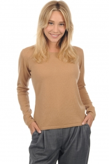 Cachemire  pull femme col rond solange