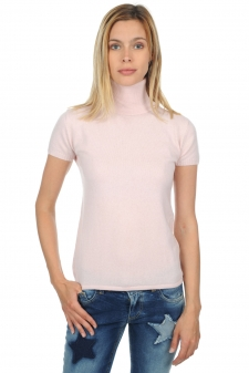 Cachemire  pull femme col roule olivia