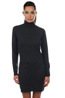 Cachemire  pull femme col roule abie