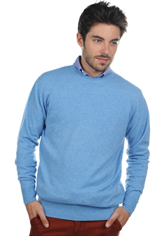 Cachemire  pull homme col rond nestor