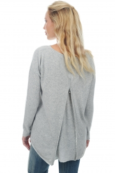 Cachemire  pull femme col rond evangeline