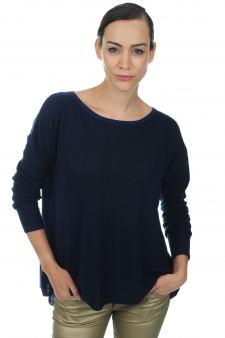 Cachemire  pull femme col rond luce