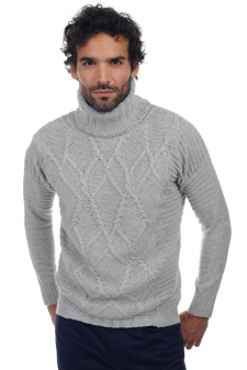 Cachemire  pull homme col rond elijah