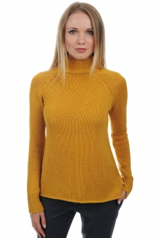 Cachemire  pull femme col roule louisa
