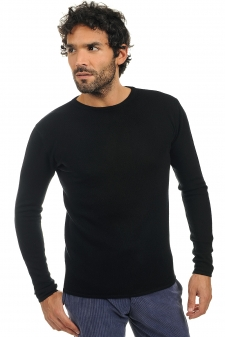 Cachemire  pull homme col rond nicholas