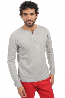 Cachemire  pull homme col rond xander