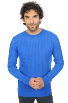 Cachemire  pull homme col rond amir