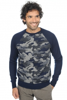 Cachemire  pull homme col rond isaac