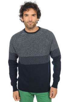 Cachemire  pull homme col rond jibril