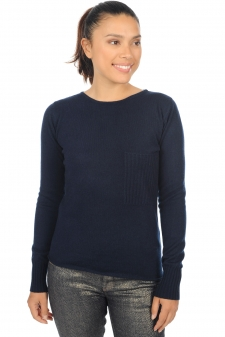 Cachemire  pull femme col rond aziliz