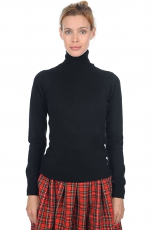 Cachemire  pull femme col roule kassidy