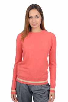 Cachemire  pull femme col rond kristanna