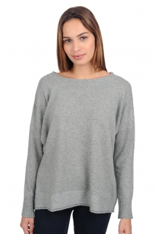Yak  pull femme col rond ladydi