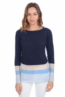 Cachemire  pull femme col rond lysa