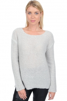 Cachemire  pull femme col rond maisie