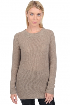 Cachemire  pull femme col rond marielle