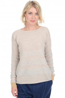 Cachemire  pull femme col rond marylou