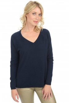 Cachemire  pull femme col v shireen
