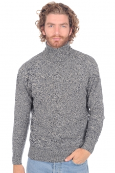Cachemire  pull homme col roule robb
