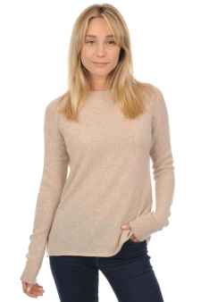 Cachemire  pull femme col rond maryama