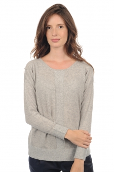 Cachemire  pull femme col rond nymeria