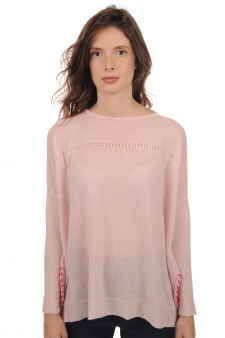 Cachemire  pull femme col rond hannah
