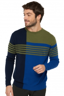 Cachemire  pull homme col rond kevan