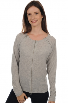 Cachemire  pull femme col rond triofermo