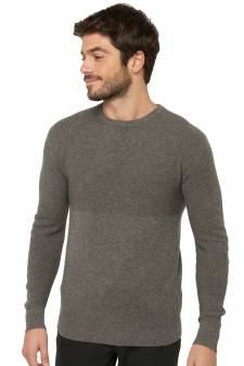Cachemire  pull homme col rond theon