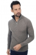 Cachemire et Yak polo camionneur homme howard marmotte anthracite chine 2xl