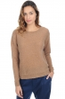 Cachemire pull femme col rond laurenlee camel chine t2