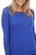 Cachemire pull femme col rond oona bleu lapis s