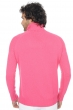 Cachemire pull homme col roule mamadou rose shocking m