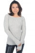 cachemire pull femme col rond daffiny flanelle chine l
