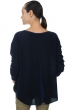 cachemire pull femme col rond luce marine fonce t2