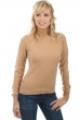 cachemire pull femme col roule lili camel s