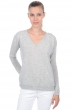 cachemire pull femme col v jewel flanelle chine s