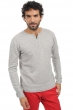cachemire pull homme col rond xander flanelle chine m