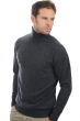 cachemire pull homme col roule edgar anthracite chine s