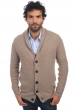 cachemire pull homme epais maxwell natural brown chine 2xl