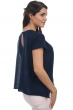 coton giza 45 pull femme col rond kimberley marine t2